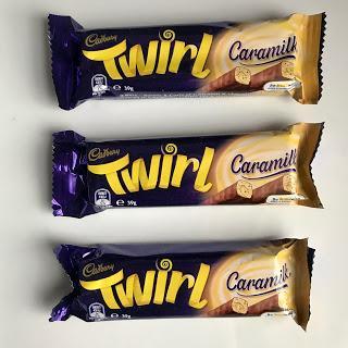 Cadbury Caramilk Twirl Review