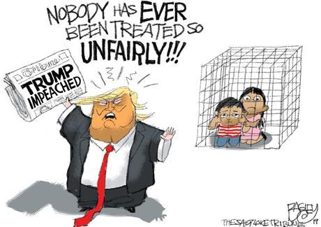 Image result for trump impeachment cartoon