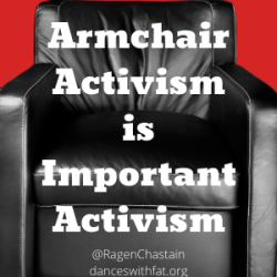 In Celebration of Armchair Activism