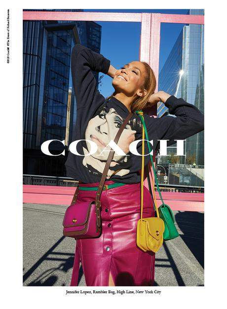 CHECK IT: COACH Releases Spring 2020 Campaign Images Of J.Lo