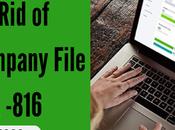 QuickBooks Company File Error 6190, -816