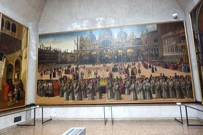 ART IN VENICE: Part 2,  the Accademia Gallery