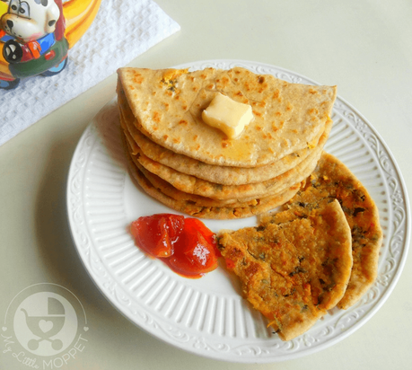 Use familiar dishes to introduce new ingredients to your kids, like this Whole Wheat Stuffed Tofu Paratha recipe that's yummy and packed with nutrition!