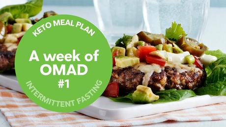 Keto meal plan: A week of OMAD #1