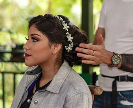 average price for wedding hair and makeup bride hairstyle