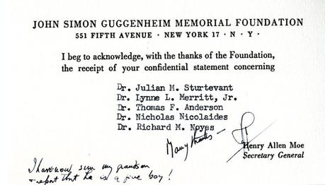 The Guggenheim Foundation Advisory Board and Committee of Selection