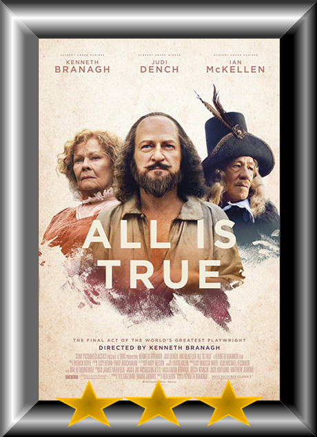 ABC Film Challenge – Catch-Up 2019 – W – All is True (2018) Movie Review