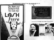 1934 Year That Maybelline Replaced Phrase 'eyelash Beautifier' with 'mascara' Advertising.