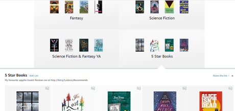 Check out the Lesbrary Amazon Page!