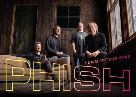 Phish: Summer tour dates