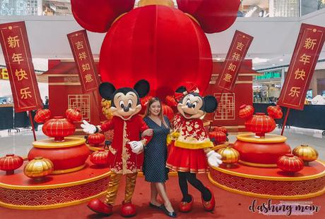 SM Supermalls meet-and-greet Mickey Mouse Dashing Mom