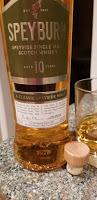 Cheers to Robert Burns and Speyburn Speyside Single Malt Scotch Whisky