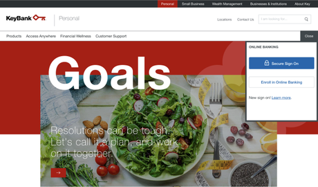 KeyBank – Banking on Diet Culture
