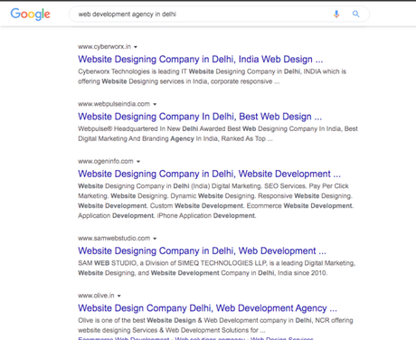 How to find a web development agency in Delhi NCR?