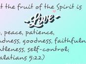 Word Week: Fruit Spirit, Goodness