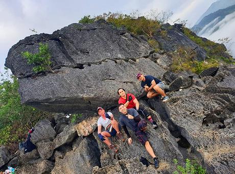 Dinosaur head at Mt. Binacayan