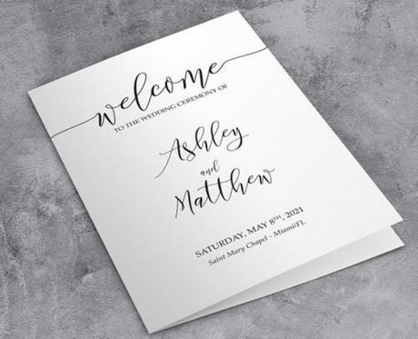 religious wedding programs catholic wedding ceremony program
