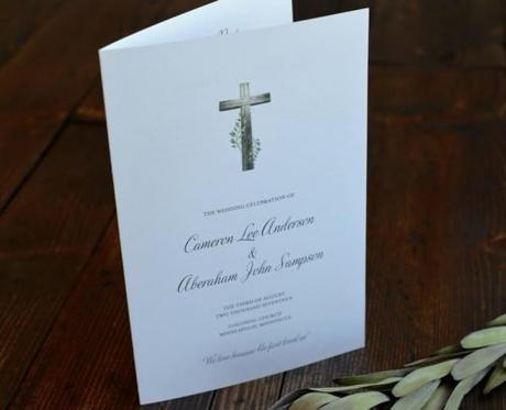 religious wedding programs christian wedding ceremony program