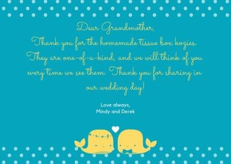 wedding thank you cards wording thank you note for wedding gifts