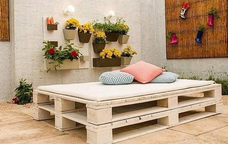Ideas and Decoration with Pallets