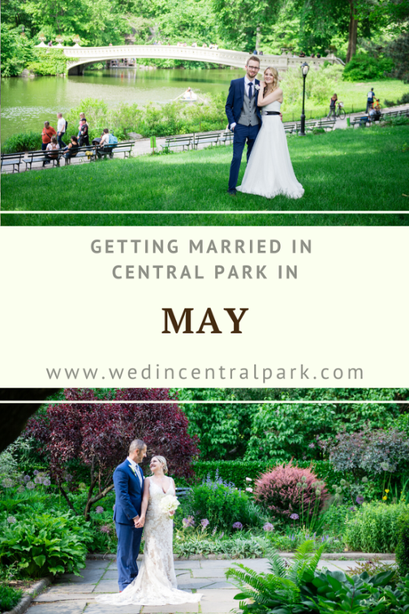Getting Married in Central Park in May