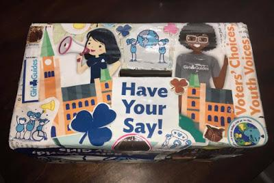 Future Voter Challenge: My favourite Girl Guides badge activity