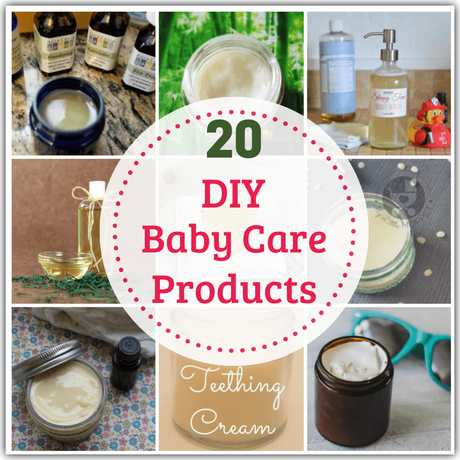 Skip the toxic chemical-laden baby products & try out these DIY Baby Products that you can make with natural ingredients! Includes bonus DIYs for new Moms!