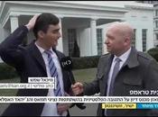 Reporters Kipa During Interview White House (video)