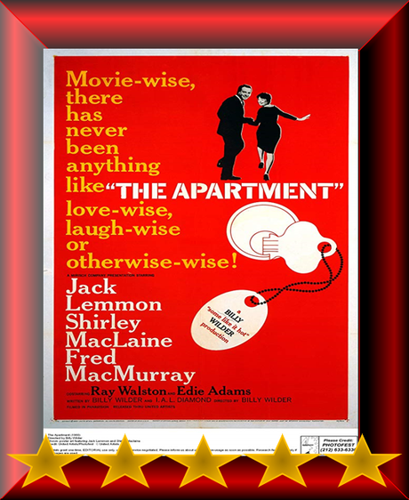 ABC Film Challenge – Oscar Nomination – A – The Apartment (1960) Movie Review