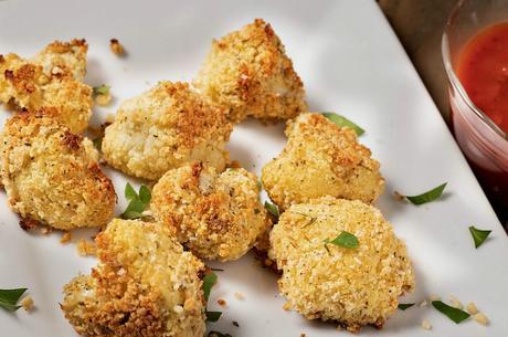 Vegan Parmesan Cauliflower Wings