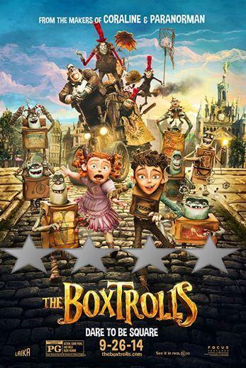 ABC Film Challenge – Oscar Nomination – B – The Boxtrolls (2014)