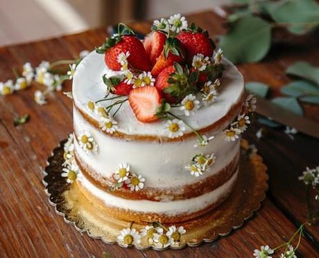 average price of wedding cake naked cake