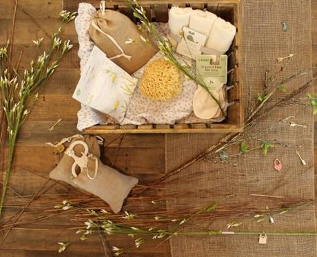 wedding gift bag ideas bath items in box