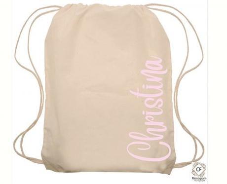 wedding gift bag ideas drawstring bag