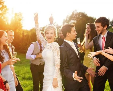 wedding party dance songs newlyweds dancing with guests
