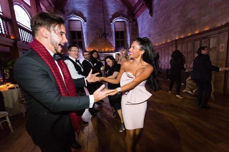 Dancing couple at Achnagairn Estate wedding