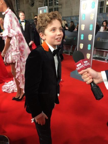 BAFTA 2020 – Red Carpet – Roman Griffin Davis