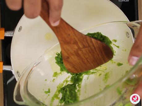 Buttered Green Pea Mash