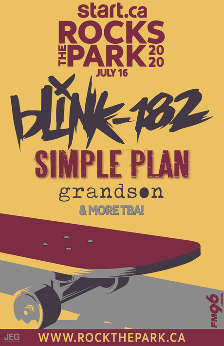 Start.ca Rocks The Park Adds blink-182, Simple Plan & More to 2020 Lineup