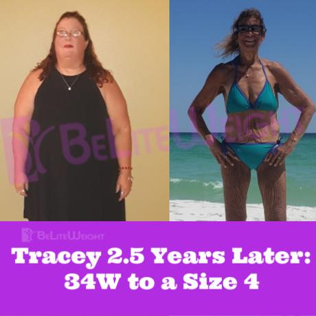 Tracey 2.5 Years Later: 34W to a Size 4