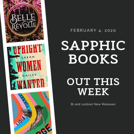 Sapphic Books Out This Week