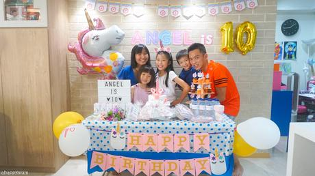 It's a Unicorn Party - Angel turns 10!