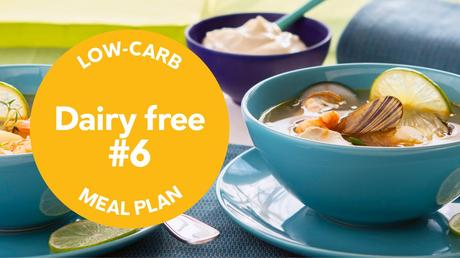 Low-carb meal plan: Dairy-free #6
