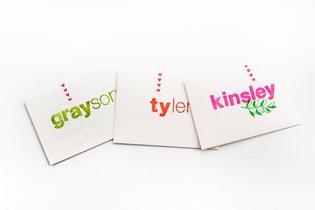 Handmade Stamped Valentine's Day Cards