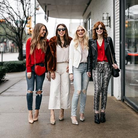 Chic at Every Age // Under $100 Top for Valentine's Day