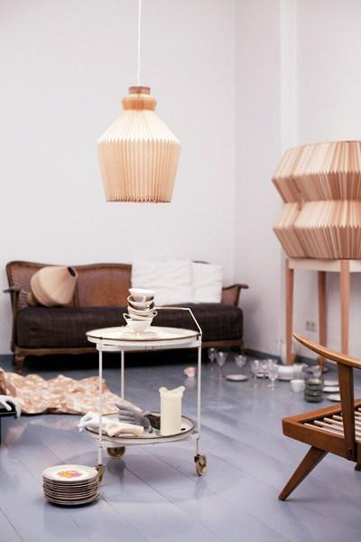 Trend Watch: Pleated Lampshades