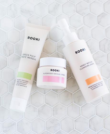 Rooki Beauty Review, Rooki Beauty Superfood Saviour Creme, Rooki Beauty Honey Matcha Cleansing Drops, Rooki Beauty Green Pulp Paste Masque