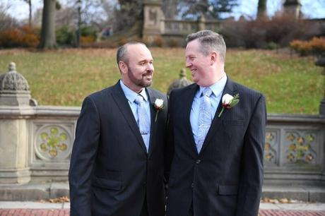 John and Mark's December Wedding at Wagner Cove