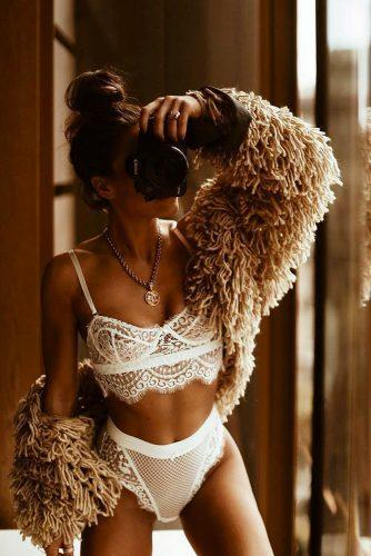 sexy wedding lingerie 2019 girl with photocamera gooseberryintimates
