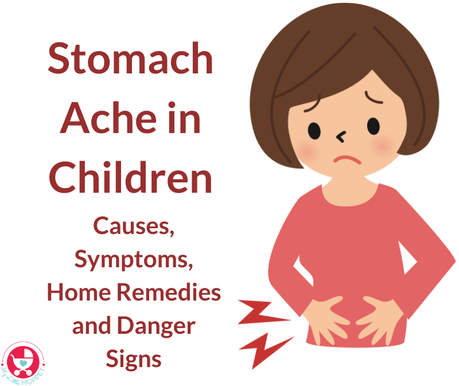 Stomach aches are a common complaint all parents hear. Learn more about stomach ache in children - causes, symptoms, home remedies and danger signs.